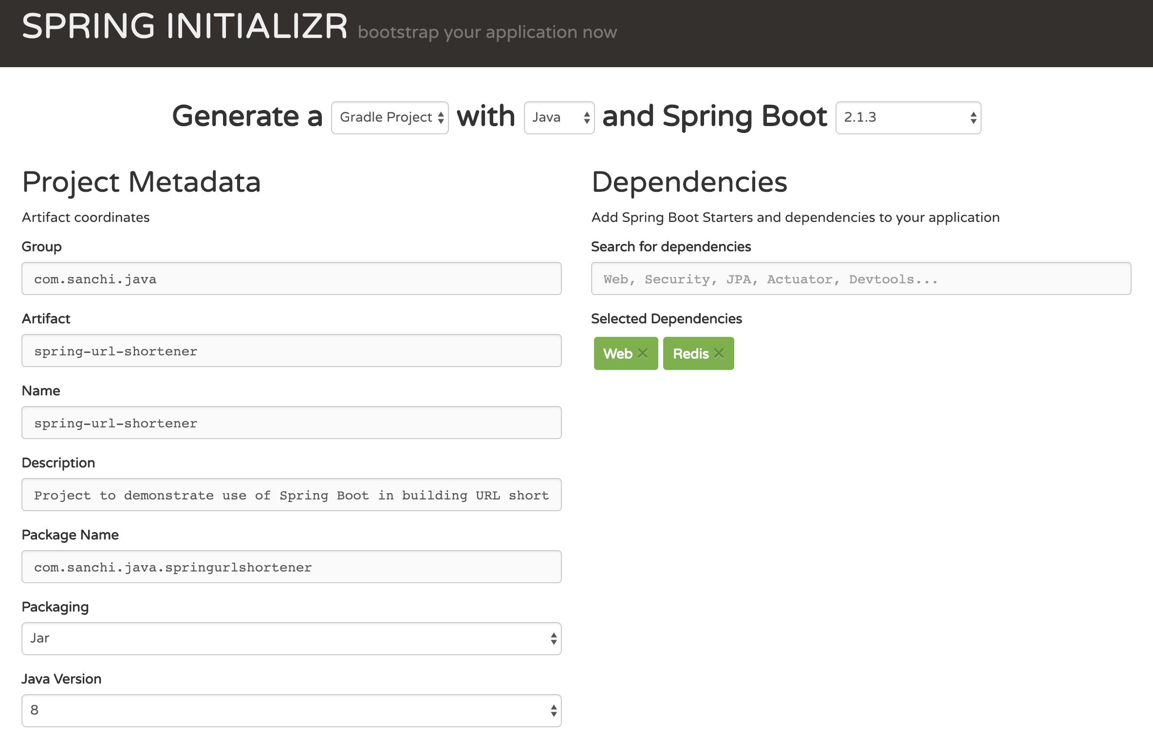 Spring Boot Url Shortener | Code Primers
